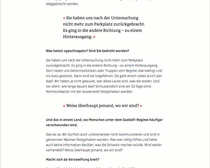 Srf Gaddafis Rache Wörterseh Verlag